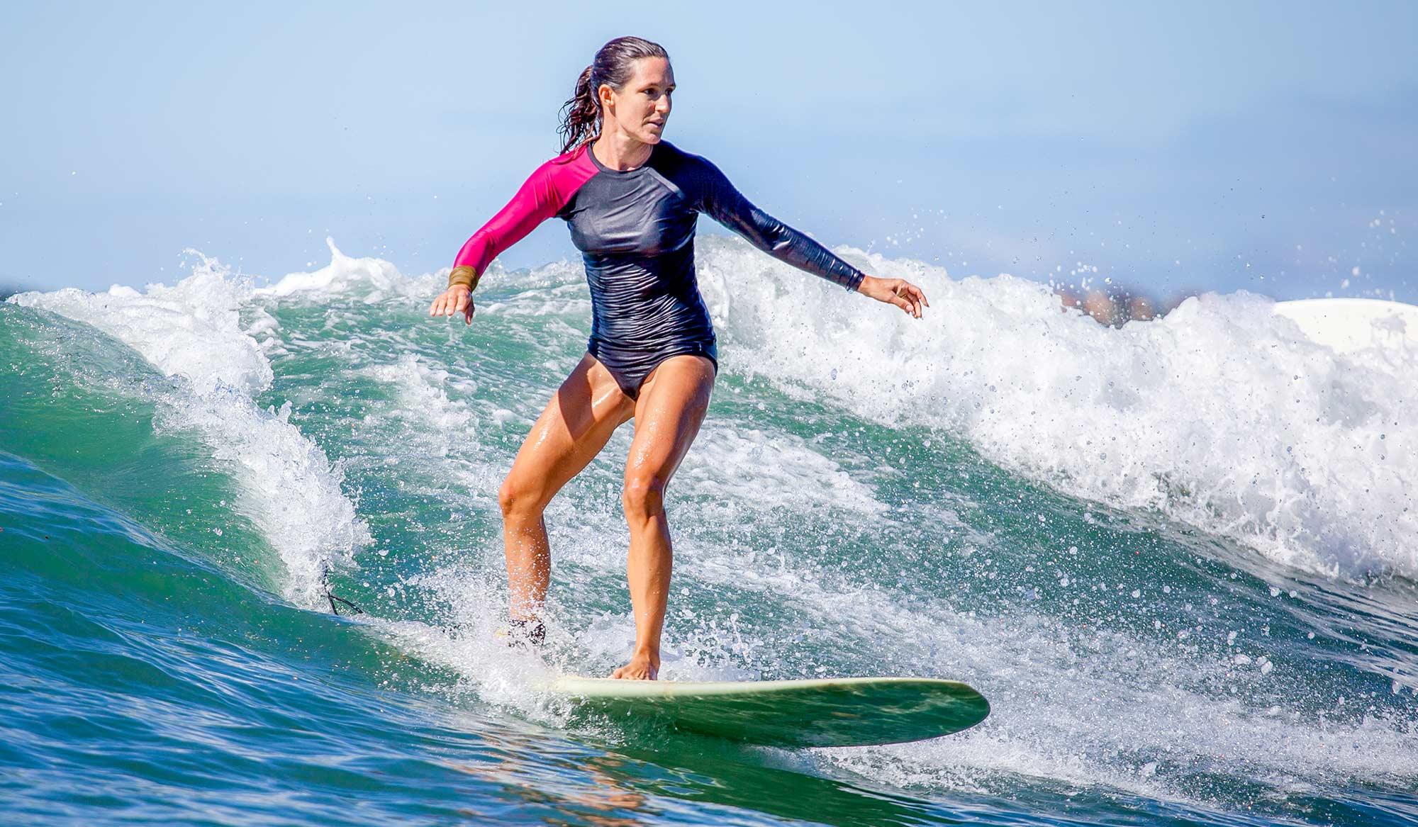 Las Olas surfer