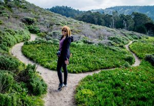 Hiking in Carmel